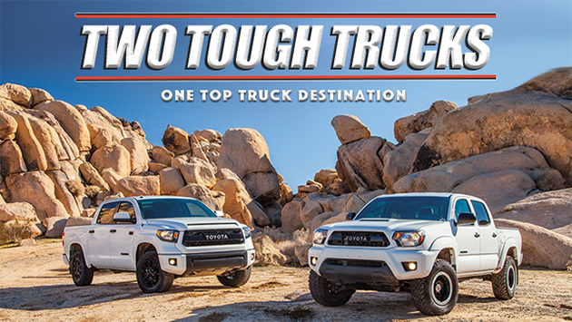 Town And Country Toyota >> Your Truck Destination Town And Country Toyota