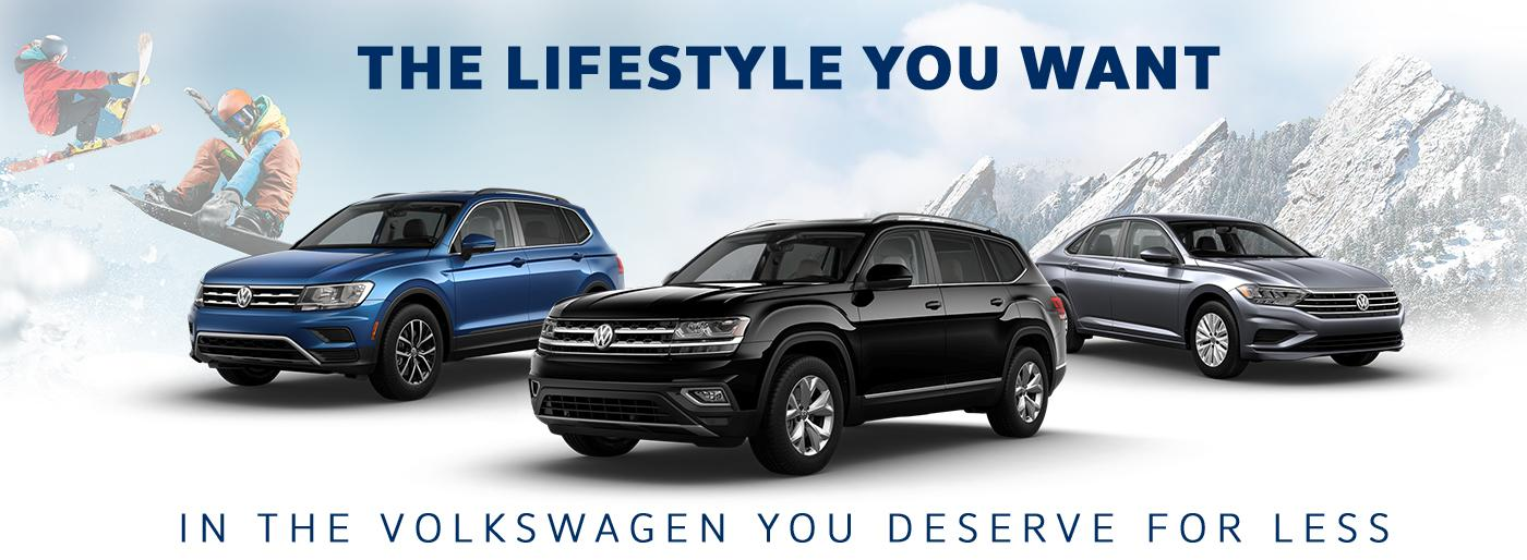 The Lifestyle You Want - In The Volkswagen You Deserve For Less