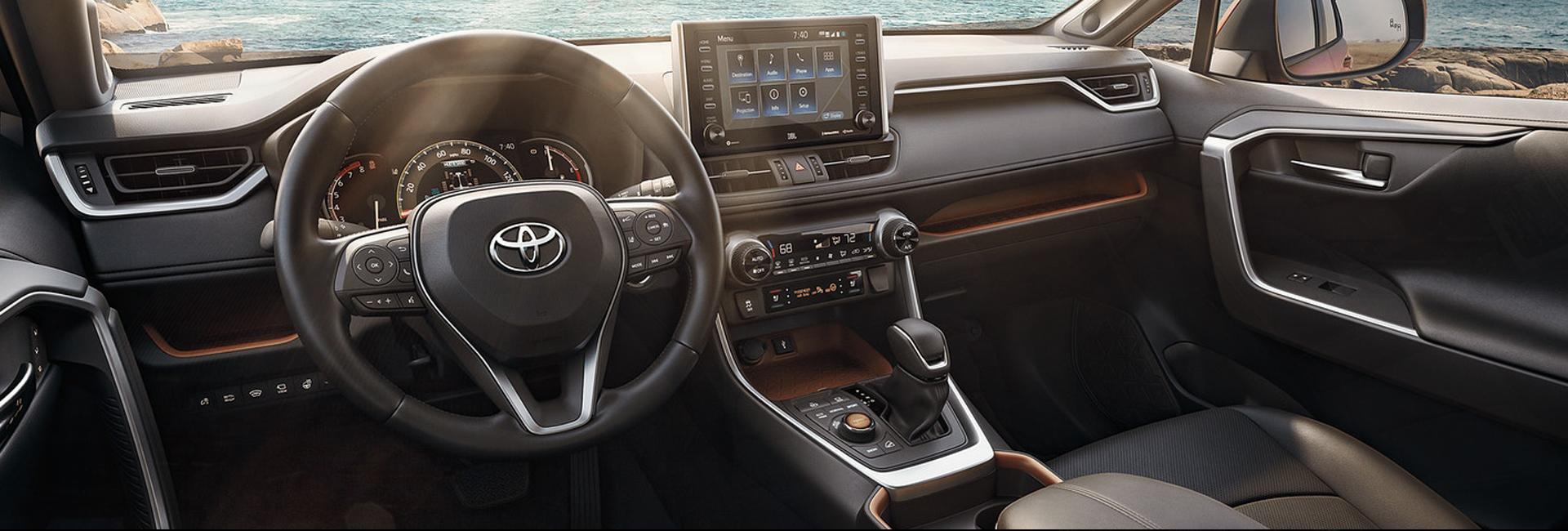 2021 Toyota RAV4 Seating capacity