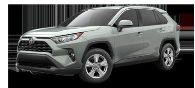 Grey 2021 Toyota RAV4