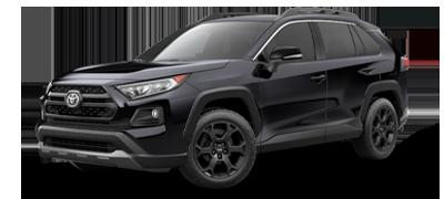 Black 2021 Toyota RAV4