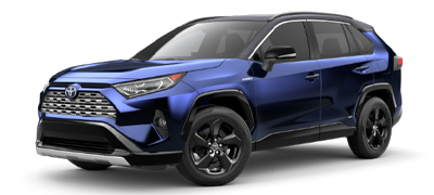 Blue 2021 Toyota RAV4