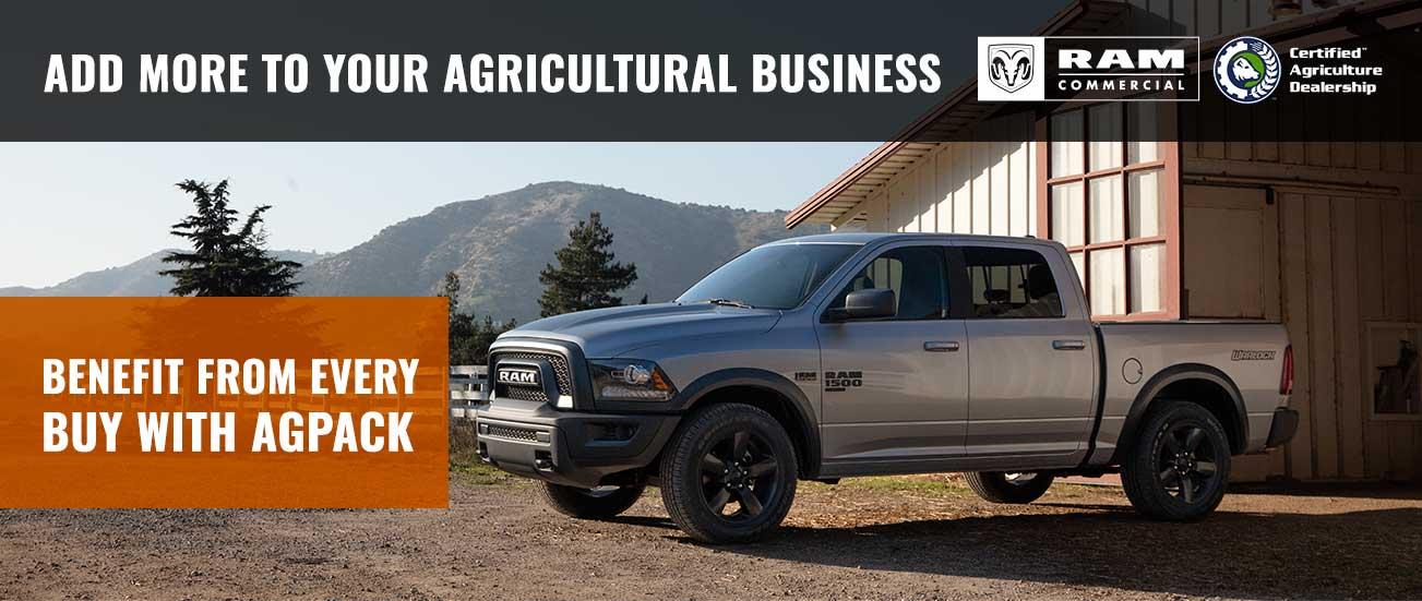 Genuine Certified AG Dealer