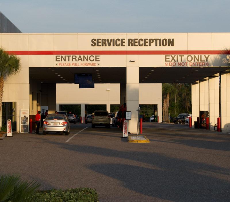 service reception image