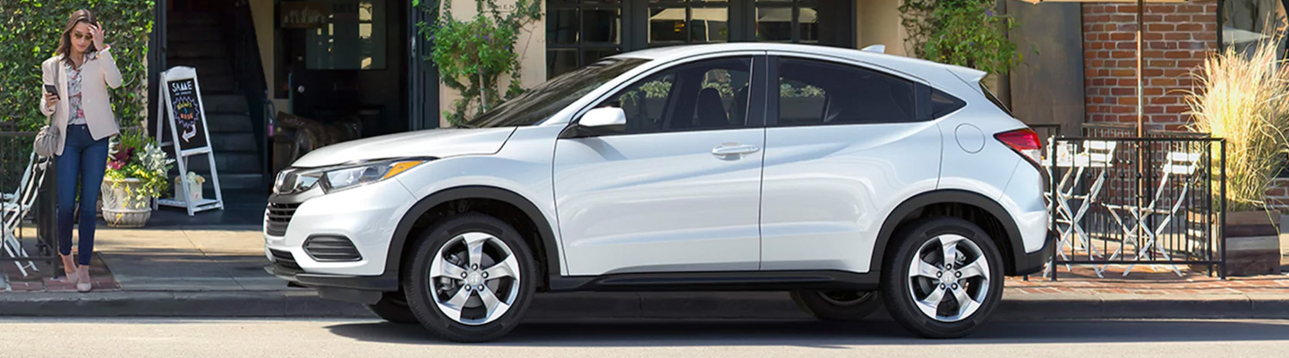 Honda HR-V parked on the side of the road