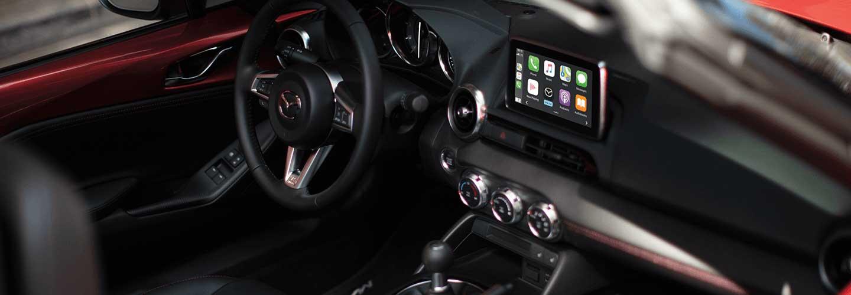 Full interior view of a 2021 Mazda3