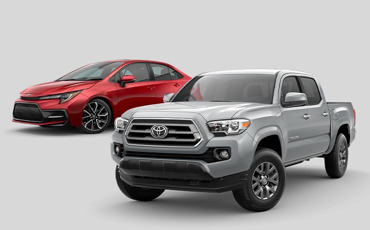 Toyota lineup