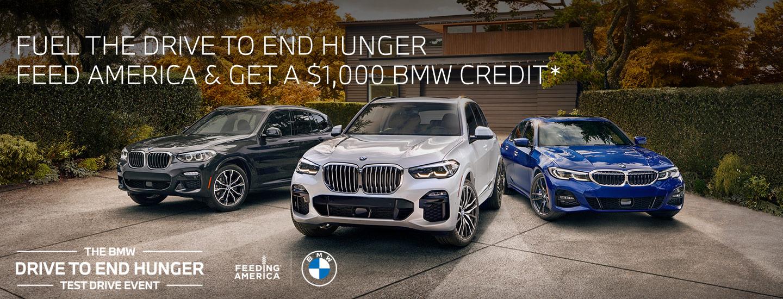 Hilton Head BMW Test Drive to End World Hunger