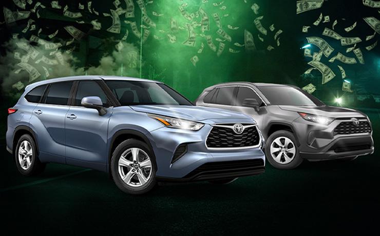 2021 Toyota Highlander & 2021 Toyota RAV4