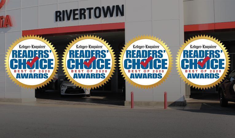 2020 Readers' Choice Awards Recipient of 4 Awards