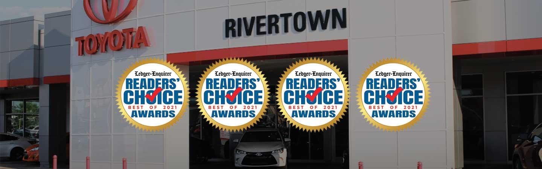 2021 Readers' Choice Awards Winner of 4 Awards