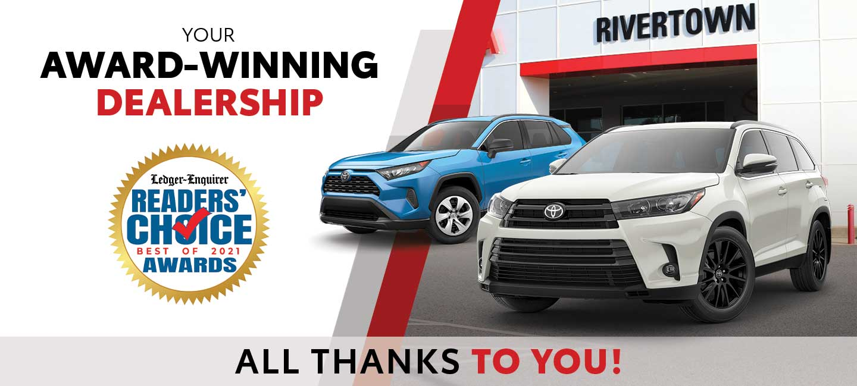 Georgia's Award-Winning Dealership - All Thanks To You