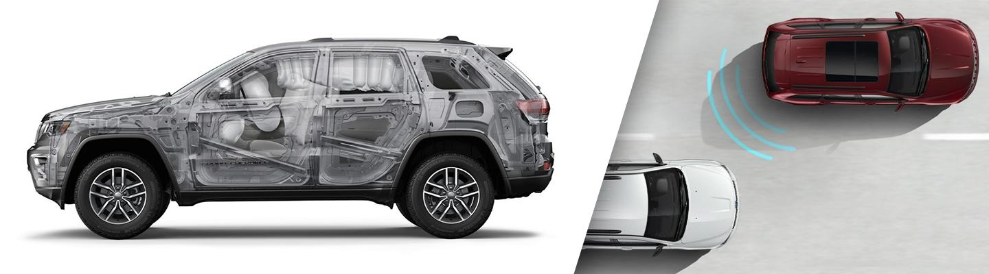 Side view of the 2020 Jeep Cherokee highlighting its safety focused design