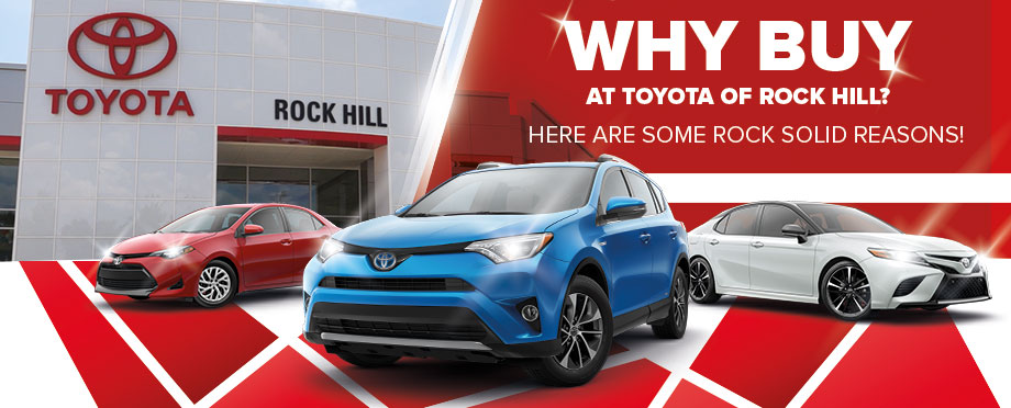 Why Buy At Toyota of Rock Hill