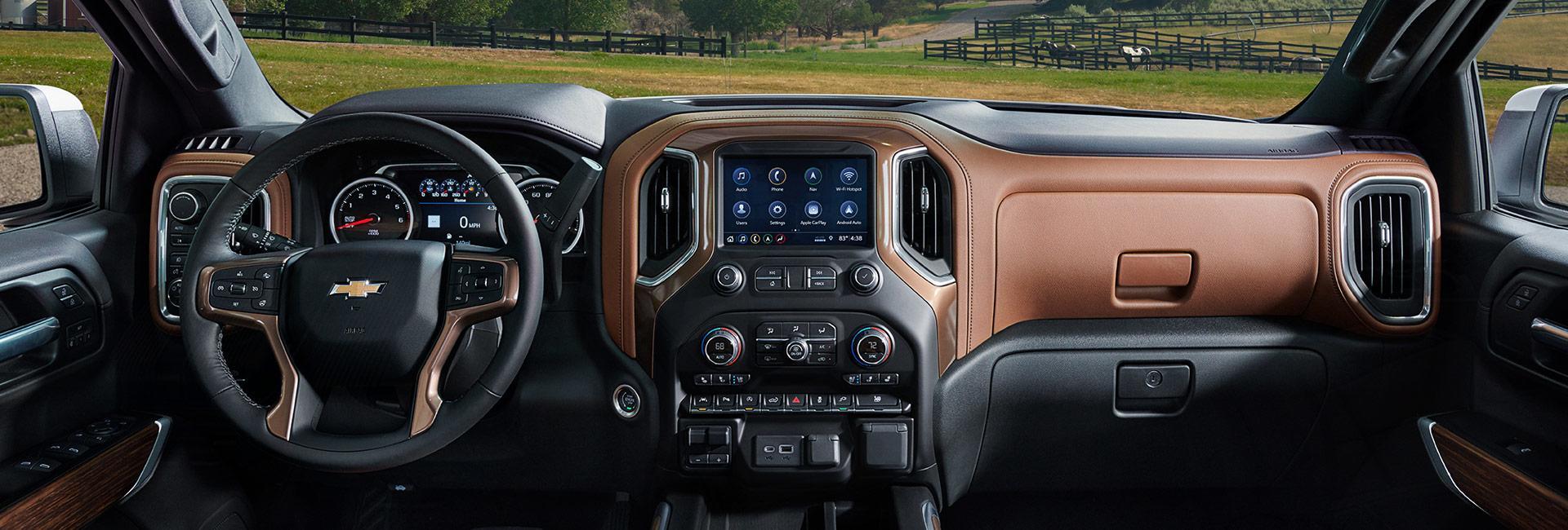 Interior image of the Chevy Silverado