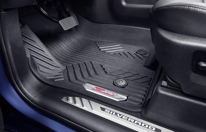 Chevy Silverado floor mats