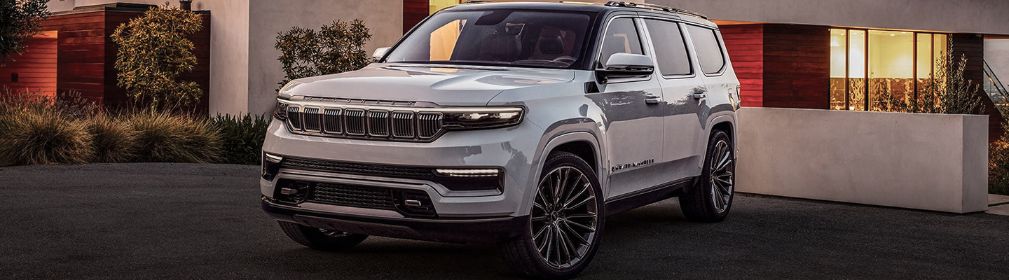 The 2021 Jeep Wagoneer in Mansfield, OH