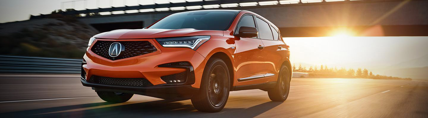 Orange 2021 Acura RDX PMC Edition in McMurray, PA