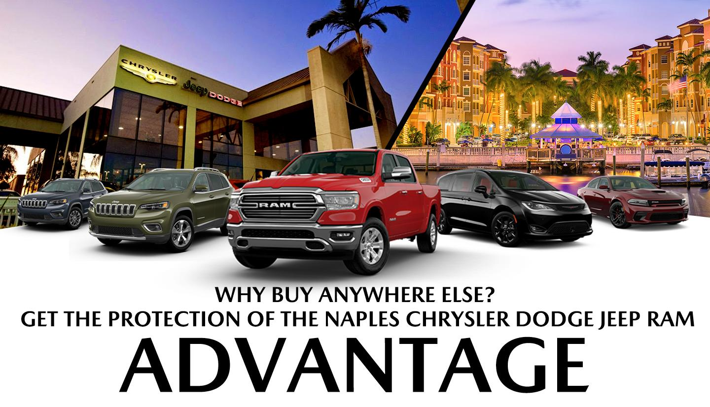 Why Buy Anywhere Else? - Get The Protection Of The Naples Advantage!