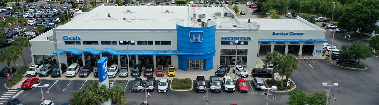 Overview shot of the Honda of Ocala dealership
