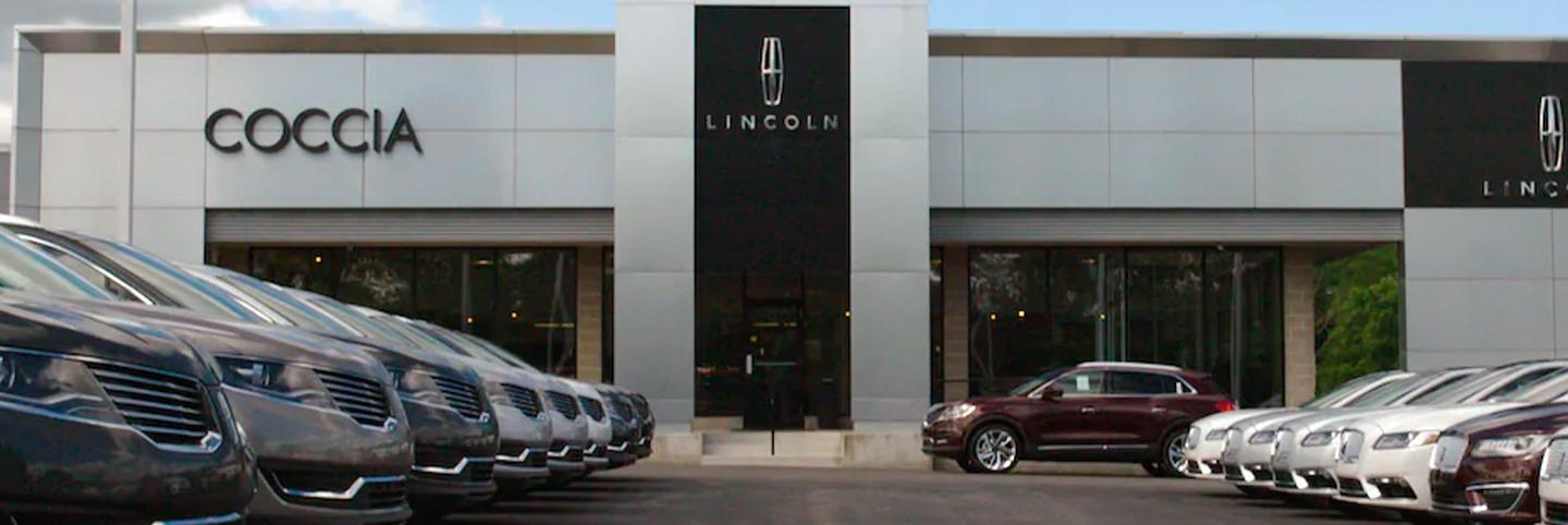 Coccia Lincoln Dealership Store Front