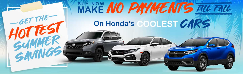 Savings Promotion at Honda Westshore