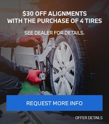 $30 Off Alignments With The Purchase Of 4 Tires