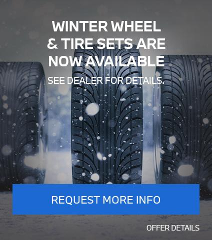 Winter wheel and tire set