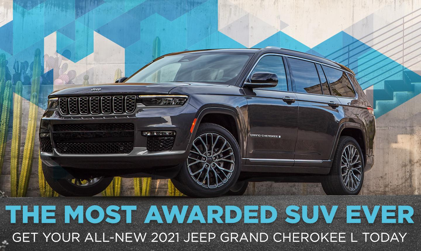 Get Your All-New 2021 Jeep Grand Cherokee L Today