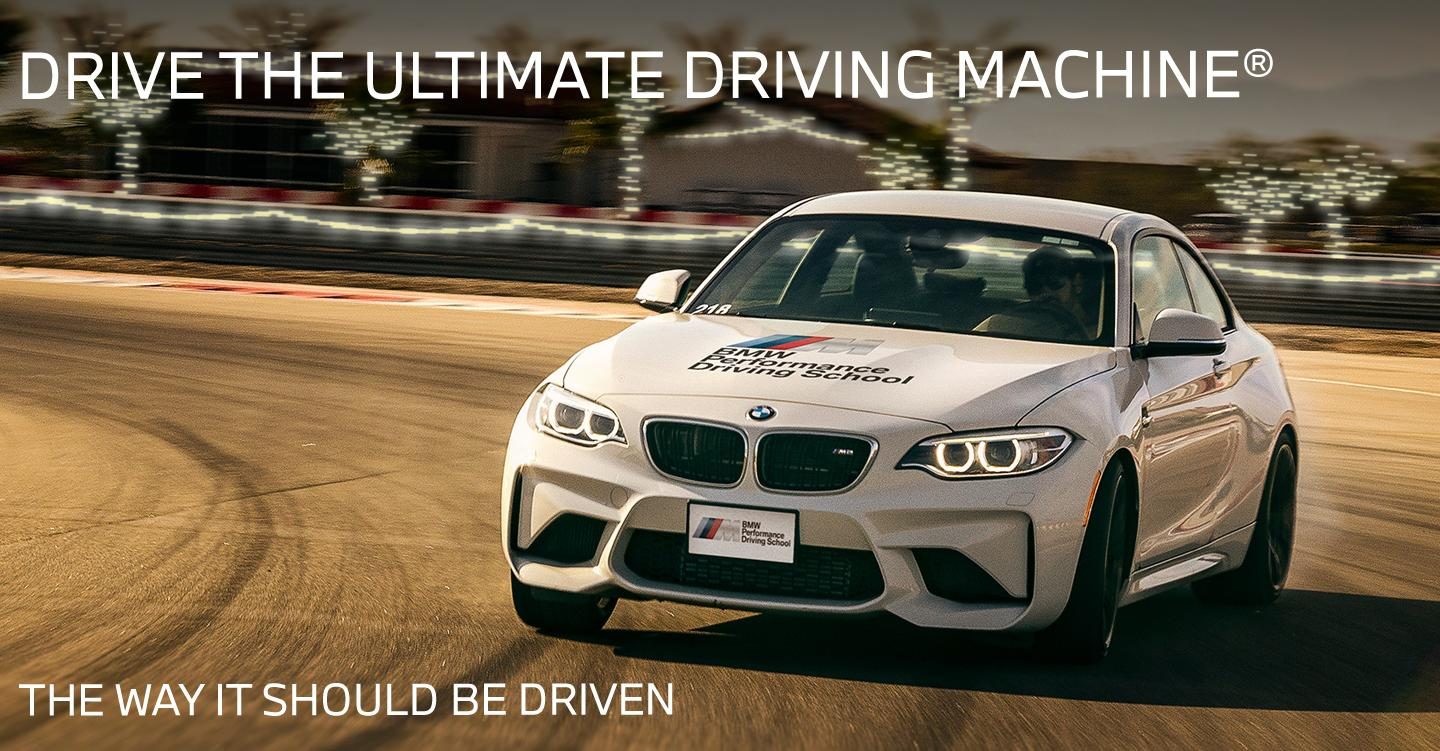 Drive The Ultimate Driving Machine® - The Way It Was Meant To Be Driven