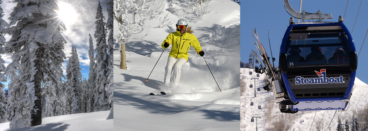 Images of skiing