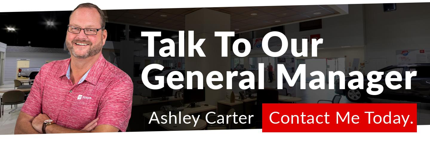 Talk To the GM - Ashley Carter