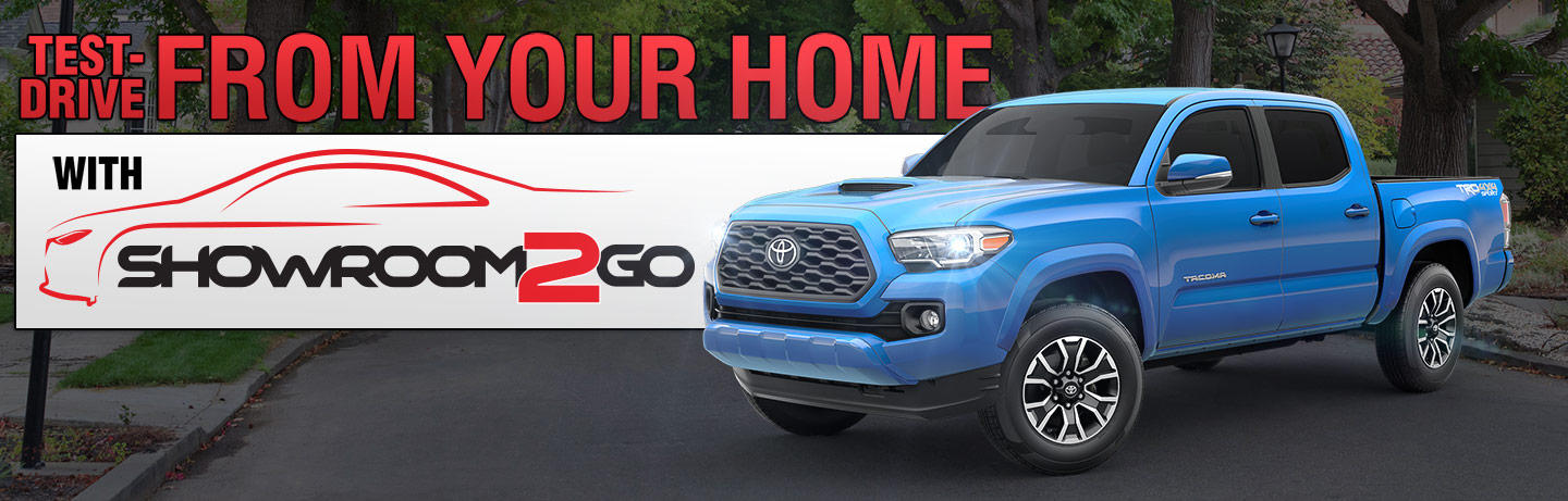 Test-Drive From Your Home With Showroom2Go