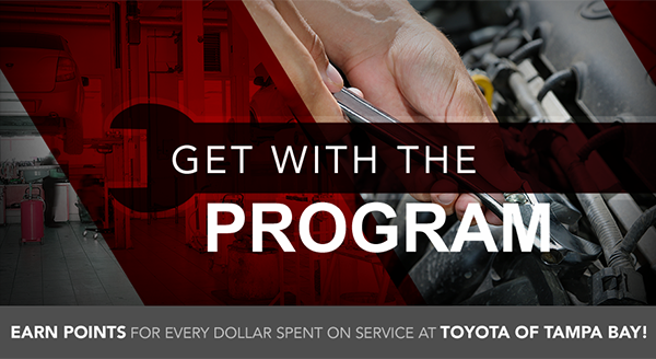Loyalty Rewards Program members at Toyota of Tampa Bay