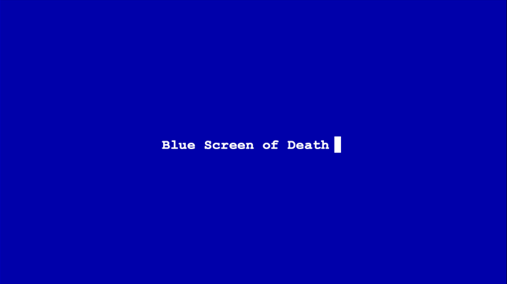 Blue Screen of Death - 7 Apps for the Perfect Prank on Halloween