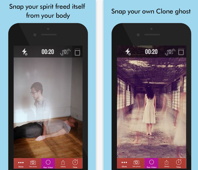Ghost Lens+ - 7 Apps for the Perfect Prank on Halloween