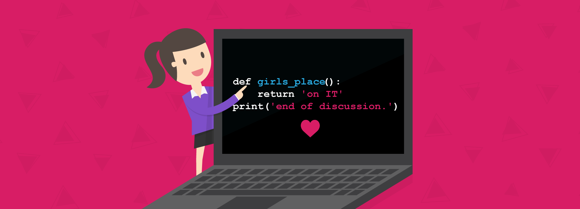 A girl who codes: Why that matters