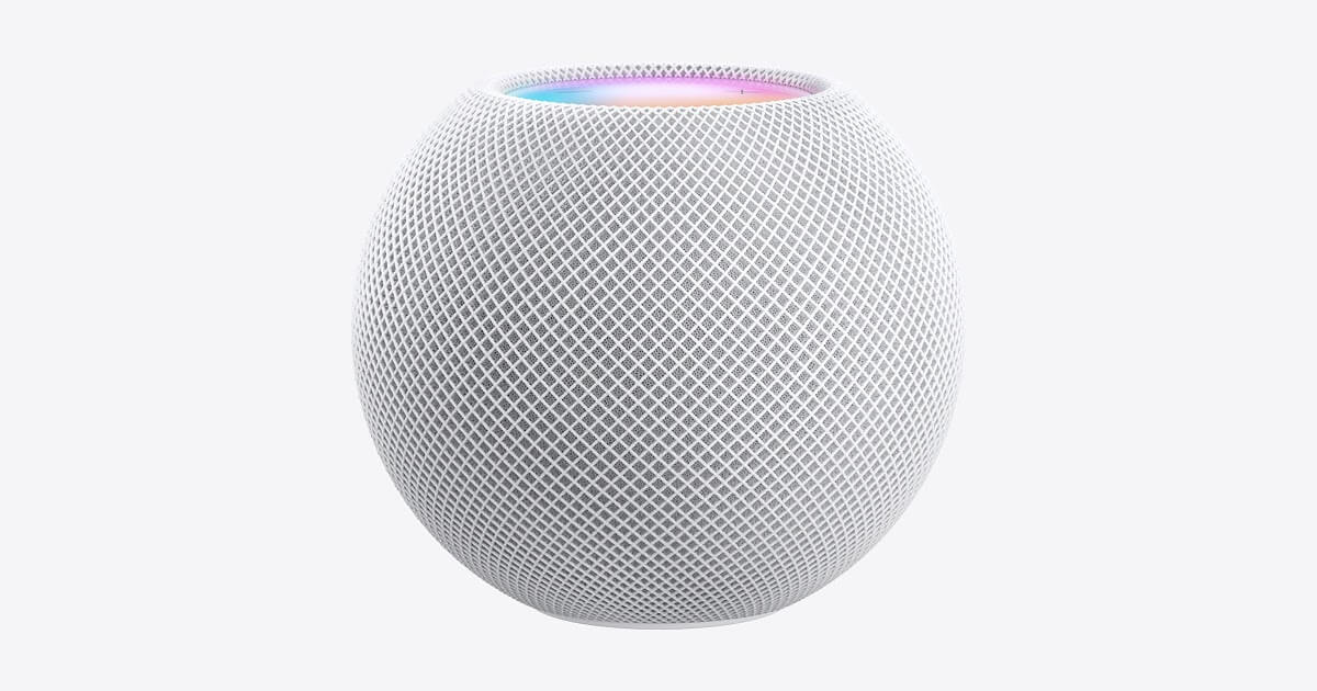 HomePod Mini apple annoucements