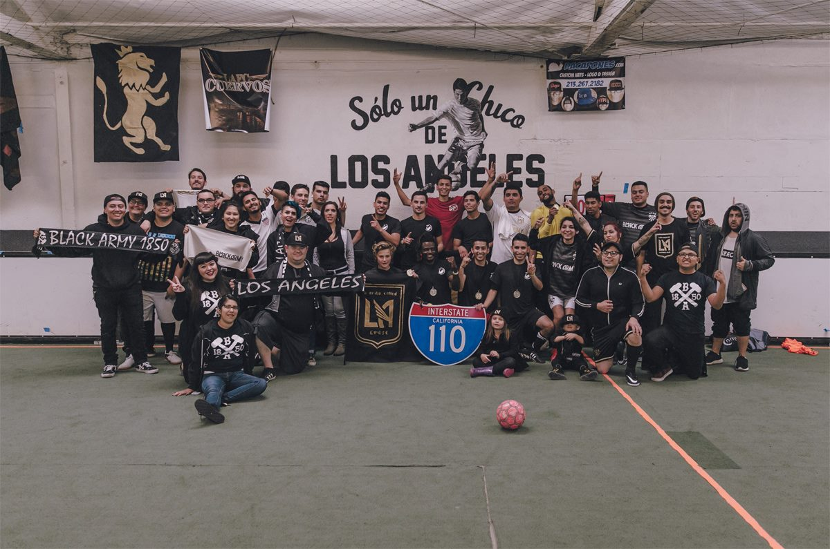 The Black Army 1850 Los Angeles Football Club