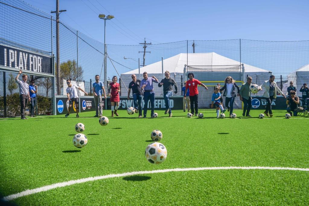 Street Soccer USA The Yard
