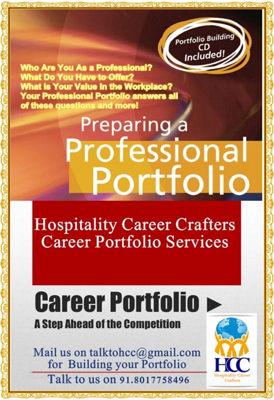hospitality career portfolio clarity hospitality career portfolio