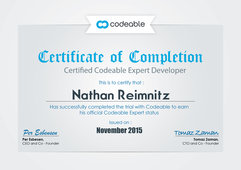 Certified Expert WordPress Developer — Clarity