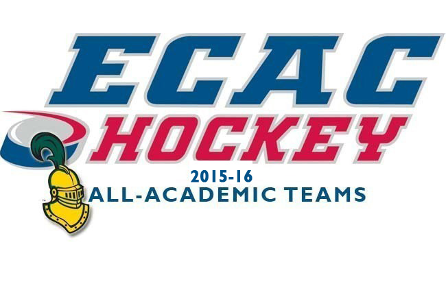 golden knights named to ecac hockey all academic teams clarkson