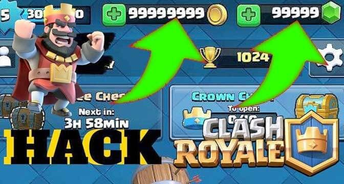 clash royale hack no human verification or survey 2018