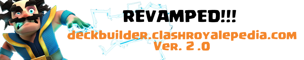 Clash Royalepedia Deck Builder