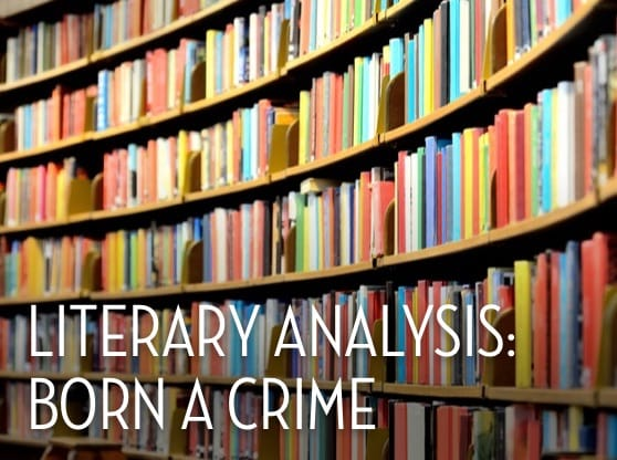 Literary Analysis: Born a Crime