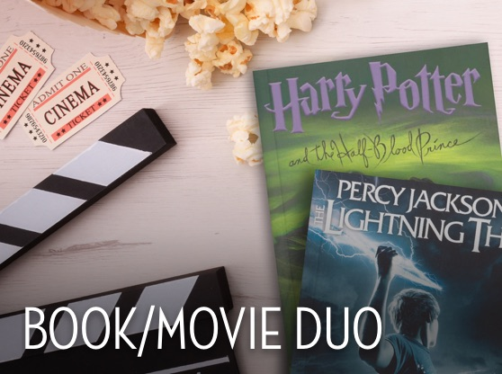 Book/Movie Duo The Lightning Thief