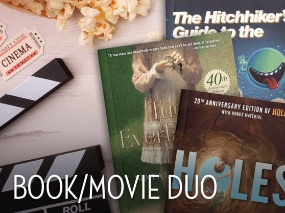 Book/Movie Duo Holes