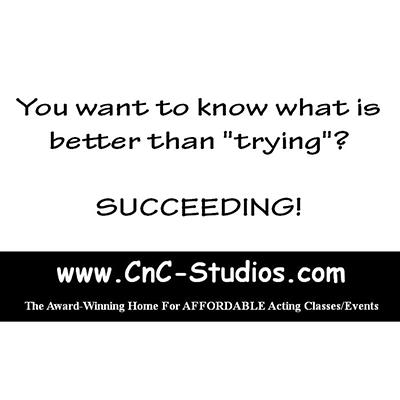 CNC Studio | Adult Scene Study | The Backstage Award Winning AFFORDABLE Acting Classes. Classes include Technique, Beginners, Commercial, On-Camera, Scene, Voiceover, Industry Events, Print, Voice, Improv, Coaching + much more. Jagger Kaye + staff have been mentioned more times than anybody else in Backstage Readers Choice Awards history with TWENTY-SIX.