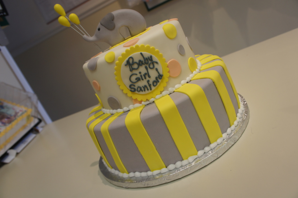 Baby Shower Cakes - Classic Bakery